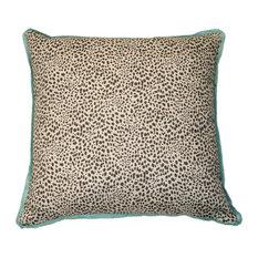 Cub Fossil Pillow, Aqua