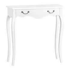 Tuscany Antique White 1-Drawer Dressing Table