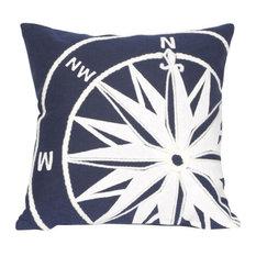 "Compass Marine Pillow, 20"" Square"