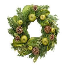 "Green Apple Magnolia 22"" Wreath"