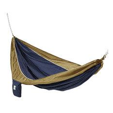 Blue and Brown Hammaka Parachute Silk Hammock