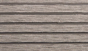 "RubberFlooringInc Helios Deck Tiles, 4 Slat,  12"" x 12"" x 3/4"" 11-Pack, Gray"