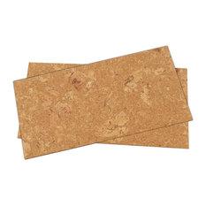 "1/4"" (6mm) Forna Cork Wall Tiles, Wood Ridge"