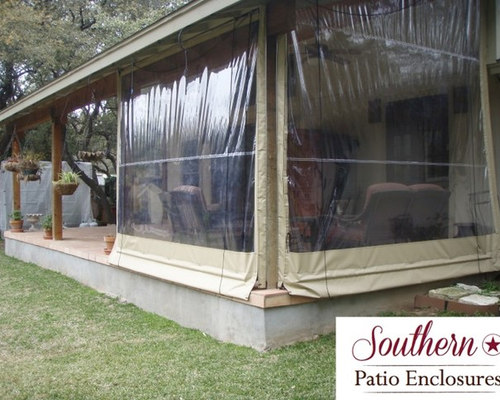 residential Clear Vinyl Patio Enclosure curtains by Southern Patio ...