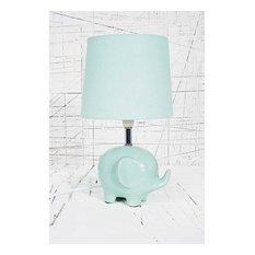 Elephant Lamp UK Plug in Mint