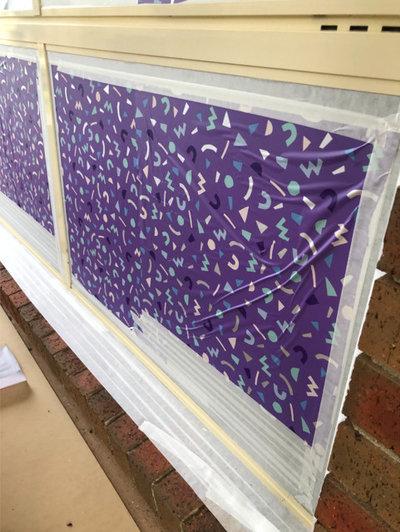 How to DIY Spray Window Frames
