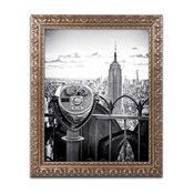 Philippe Hugonnard 'Look Manhattan' Ornate Framed Art, 16x20