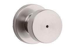 Kwikset 730PSKRDT Pismo Privacy Door Knob Set - Nickel