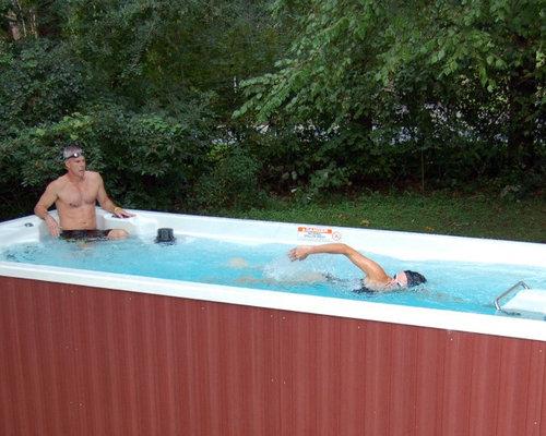 Endless Pool Swim Spa Series - Above ground endless pool