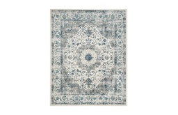 Safavieh Evoke Collection EVK220 Rug, Ivory/Gray, 10'x14'