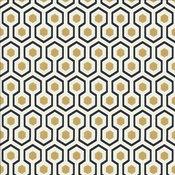 Hicks Hexagon Wallpaper