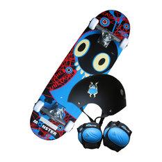 Charles Bentley & Son Ltd - Kids Monster Skateboard Set, 71 cm - Children's Toys & Games