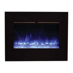 Zero Clearance Series Built-In Flush Mount Electric Fireplace, 26""