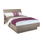 Scottsdale Bed With Slats, Truffle, Queen