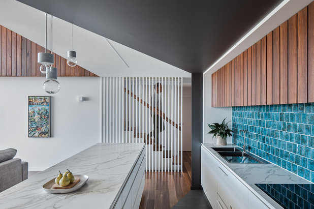 Contemporary Kitchen by Justin Humphrey Architect