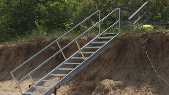 New Buffalo Beach Stairs