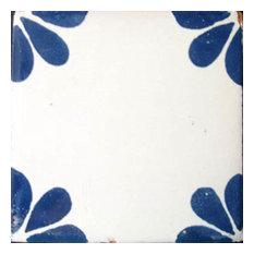 "4""x4"" Mexican Ceramic Handmade Tile #C079"
