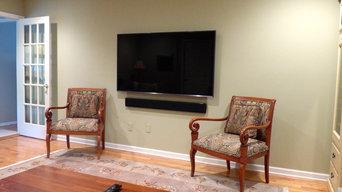 TV Installation in Family Room