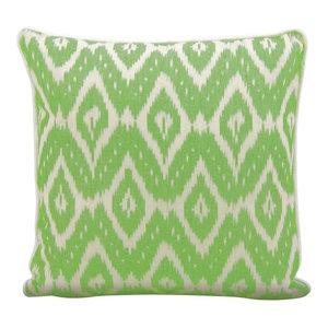 20 X 20 Nourison Mina Victory Mina Victory W1005 Green Decorative Pillow
