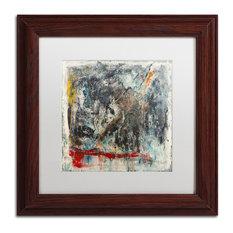"Joarez 'Furia e Paixao' Framed Art, Wood Frame, 11""x11"", White Matte"