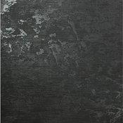 "Wallpaper charcoal black metallic Textured Plain stria lines, 8.5"" X 11"" Sample"
