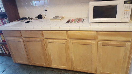 What To Do With Discolored Kitchen Cabinets With Steam Damage