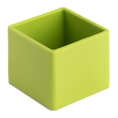 Soft Cube Bathroom Organiser, Green