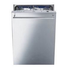 """Smeg STU8647X 24"""" Built In Fully Integrated Dishwasher, Stainless Steel"""