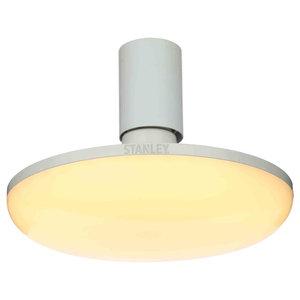 Stanley Ingenii LED Workshop Ceiling Pendant, White, 40 Watt