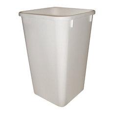 Rev-A-Shelf 27Qt Replacement Waste Bin, White