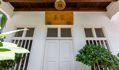 Singapore Houzz Tour: Old Meets New in a Restored Pre-War Home