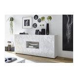 Prisma (white) 2 door 2 drawer sideboard
