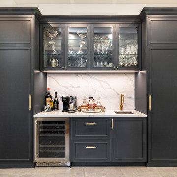 Three tone kitchen