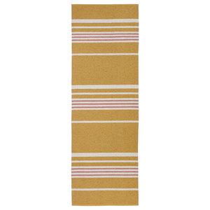 Trail Woven Vinyl Rug, Yellow, 150x210 Cm