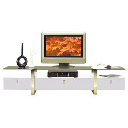 Contemporary Entertainment Centers And Tv Stands by at home USA inc.