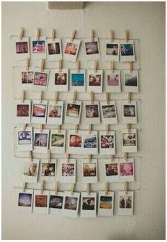 Idee creative per appendere foto al muro for Idee per appendere foto