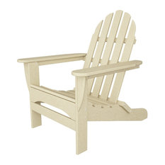 polywood llc ecofriendly adirondack chair in sand adirondack chairs