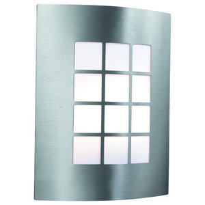 Stainless Steel and Polycarbonate Outdoor Wall Light