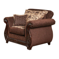 Traditional Chair, Brown