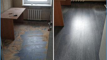 Результаты уборки квартир, коттеджей и офисов