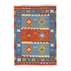 Kilim Classic Blue Floor Rug, 230x170 cm