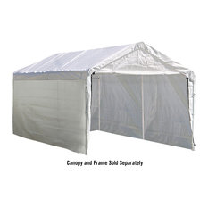 "10'x20' Canopy Enclosure Kit Fits 1-3/8"" Frame, Cover and Frame Sold Separately"