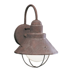 Beach Style Outdoor Wall Lights and Sconces Houzz
