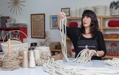 Artesanía y decoración: Descubre la cestería del siglo XXI