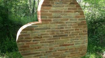 Brick Heart - Ziegelherz - Coeur en brique