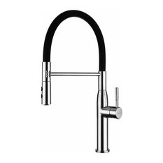 Single Lever Sink Mixer Tap, Pull Down Dual Function Sprayer