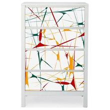 Ideas para decorar un armario zapatero con vinilos decorativos for Zapateros decorativos
