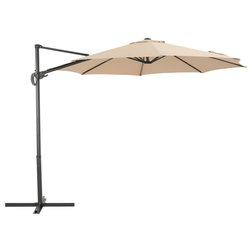 Contemporary Outdoor Umbrellas by GDFStudio