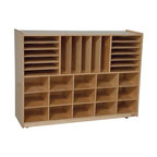 Ecr4Kids Multi-Section Classroom Storage Cabinet With ...