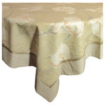 Shinehandmade - Calla Lilies Table Topper - Revamp your tabletop with the Calla Lilies Topper. This piece features a nuanced floral pattern that is a surefire way to add elegance to your dining area.